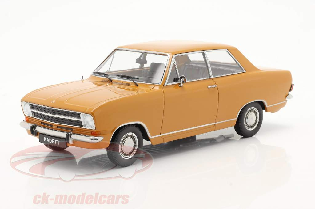 Opel Kadett B Baujahr 1965 dunkelorange 1:18 KK-Scale