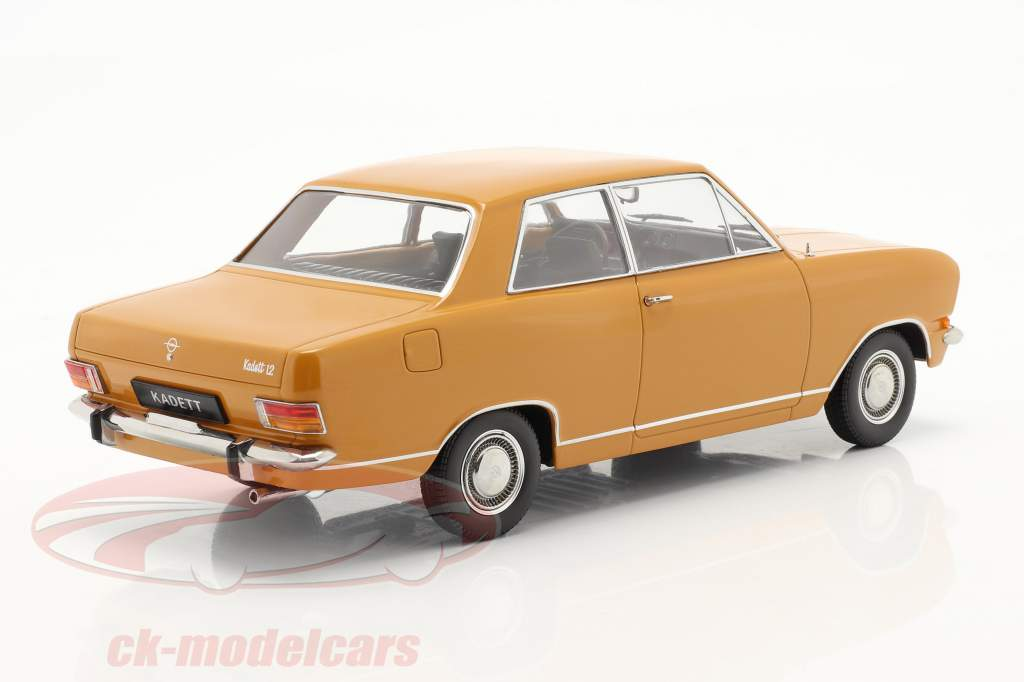 Opel Kadett B Byggeår 1965 mørk orange 1:18 KK-Scale