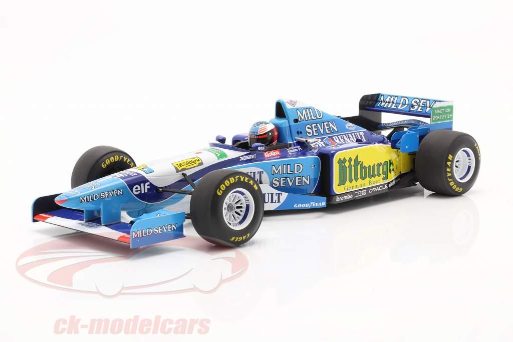 M. Schumacher Benetton B195 #1 vencedora Pacífico GP F1 Campeão mundial 1995 1:12 Minichamps