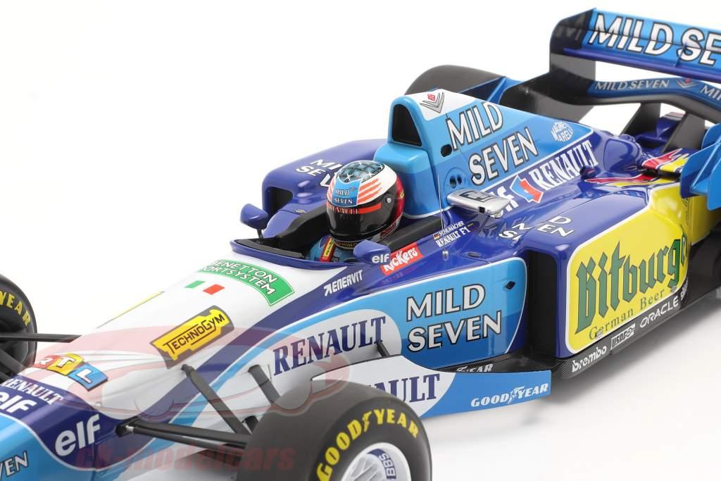 M. Schumacher Benetton B195 #1 vincitore Pacifico GP F1 Campione del mondo 1995 1:12 Minichamps