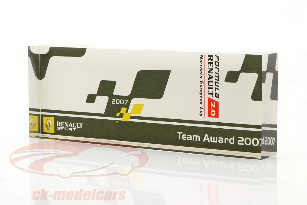 Copa de vidrio fórmula Renault 2.0 NEC equipo Otorgar Renault Sport 2007