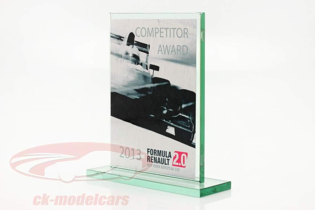Copa de vidrio fórmula Renault 2.0 NEC Competidor Otorgar Renault Sport 2013