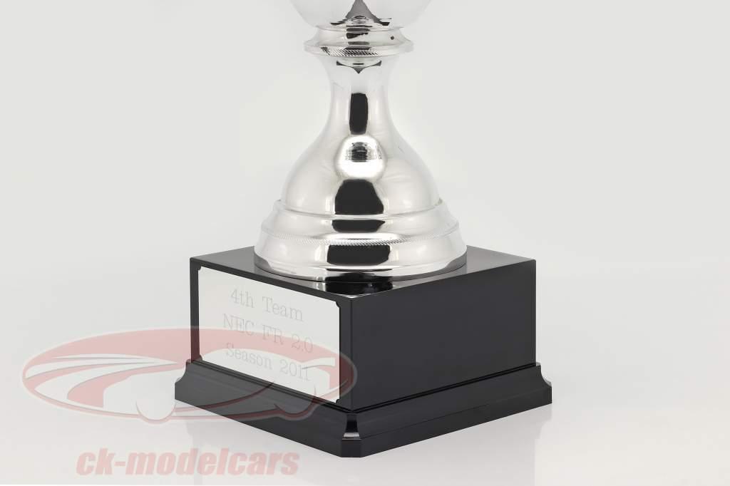 Trofæ 4. plads Teamrangering NEC formel Renault 2.0 sæson 2011