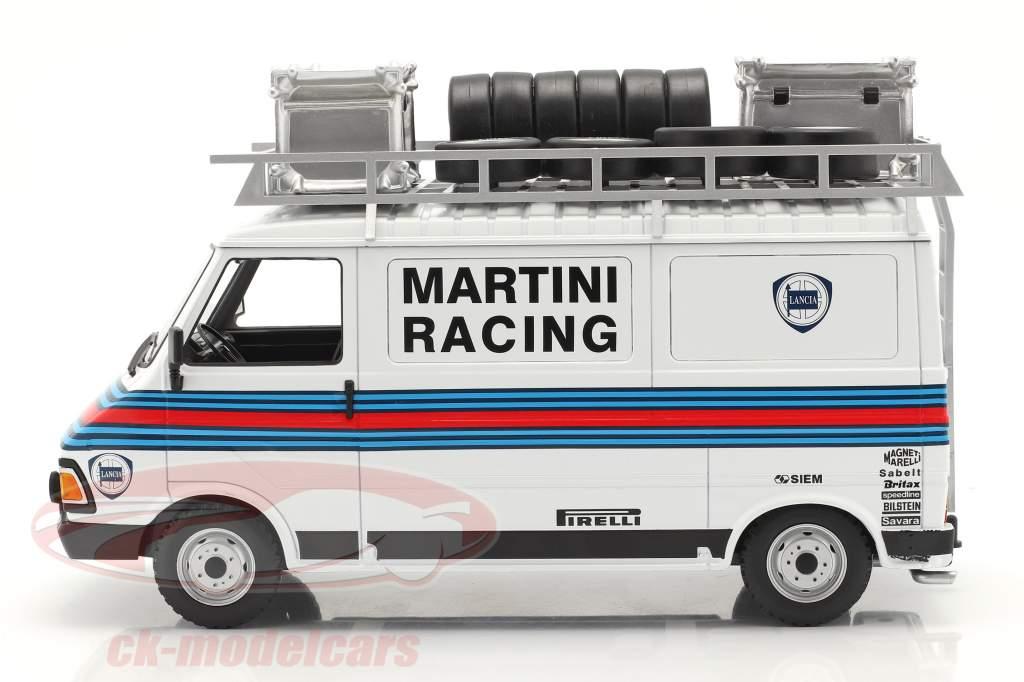 Fiat 242 furgão Rallye Assistance Martini Racing 1:18 Ixo