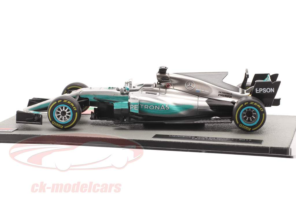 L. Hamilton Mercedes F1 W08 #44 vinder kinesisk GP F1 Verdensmester 2017 1:43 Altaya