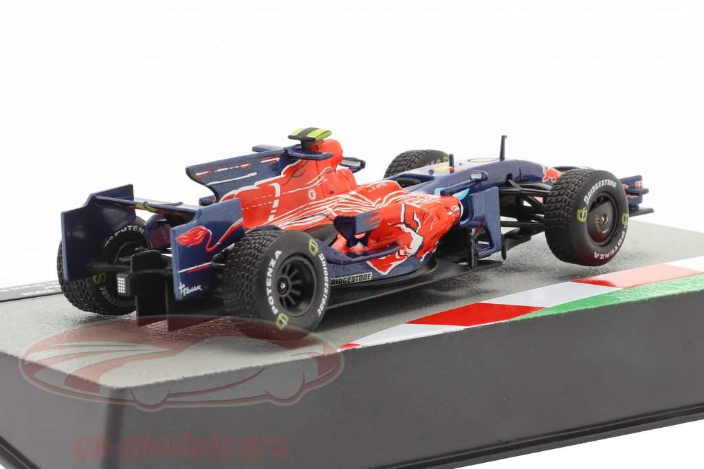 Sebastian Vettel Toro Rosso STR3 #15 Vinder Italiensk GP formel 1 2008 1:43 Altaya