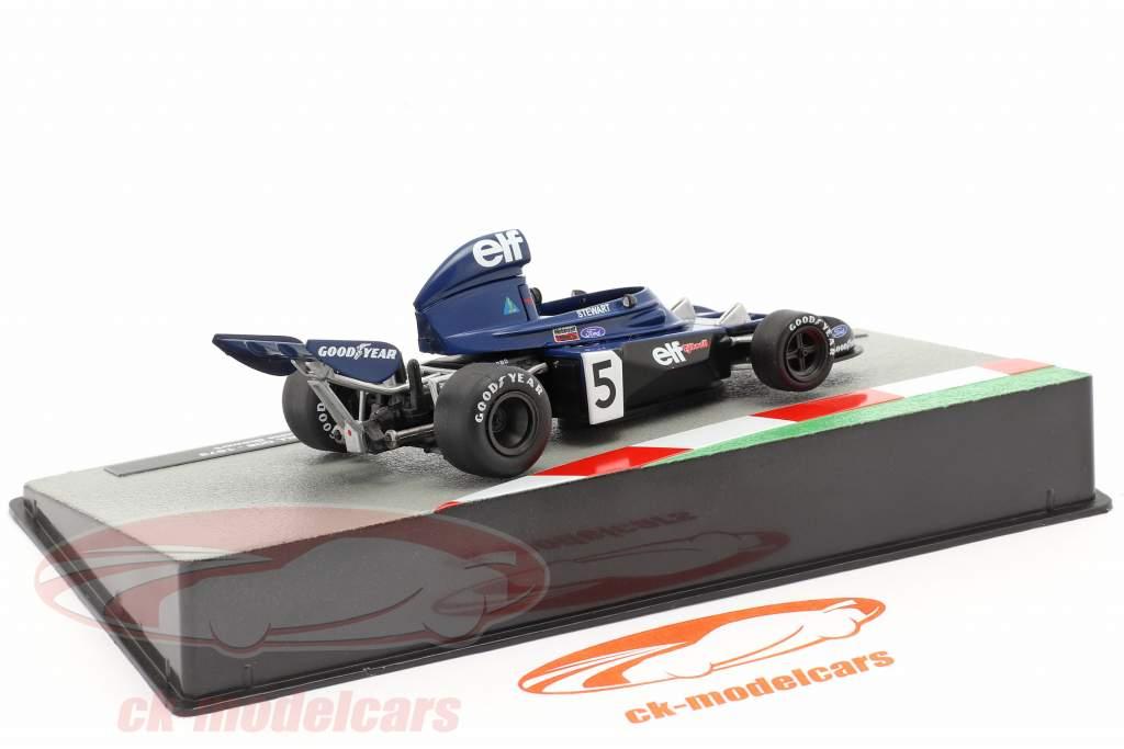 Jackie Stewart Tyrrell 006 #5 formula 1 Campione del mondo italiano GP 1973 1:43 Altaya