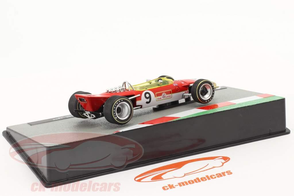 Graham Hill Lotus 49B #9 ganador Monaco GP fórmula 1 Campeón mundial 1968 1:43 Altaya