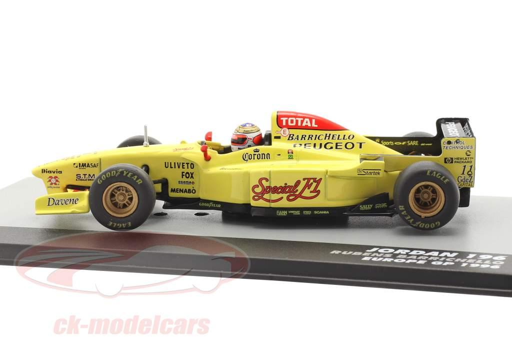 Rubens Barrichello Jordan 196 #11 Europa GP fórmula 1 1996 1:43 Altaya