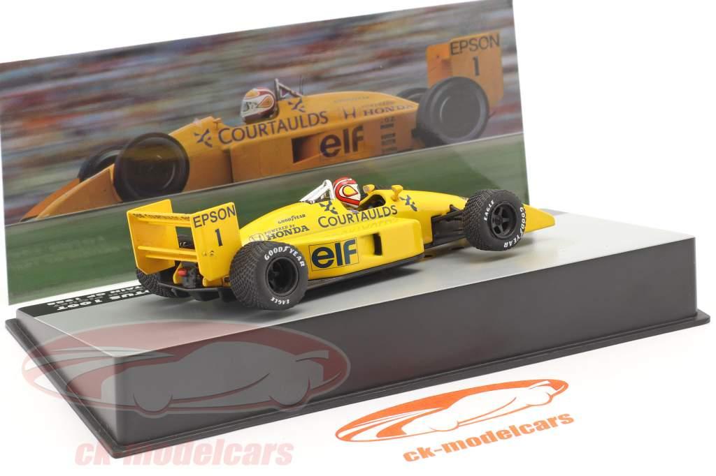 Nelson Piquet Lotus 100T #1 groot-Brittannië GP formule 1 1988 1:43 Altaya