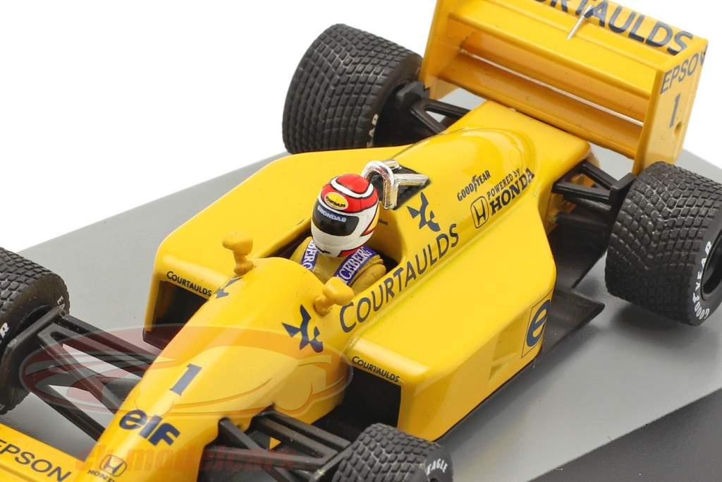 Nelson Piquet Lotus 100T #1 Storbritannien GP formel 1 1988 1:43 Altaya