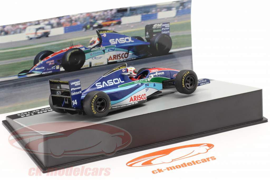 Rubens Barrichello Jordan 194 #14 Canada GP formule 1 1994 1:43 Altaya