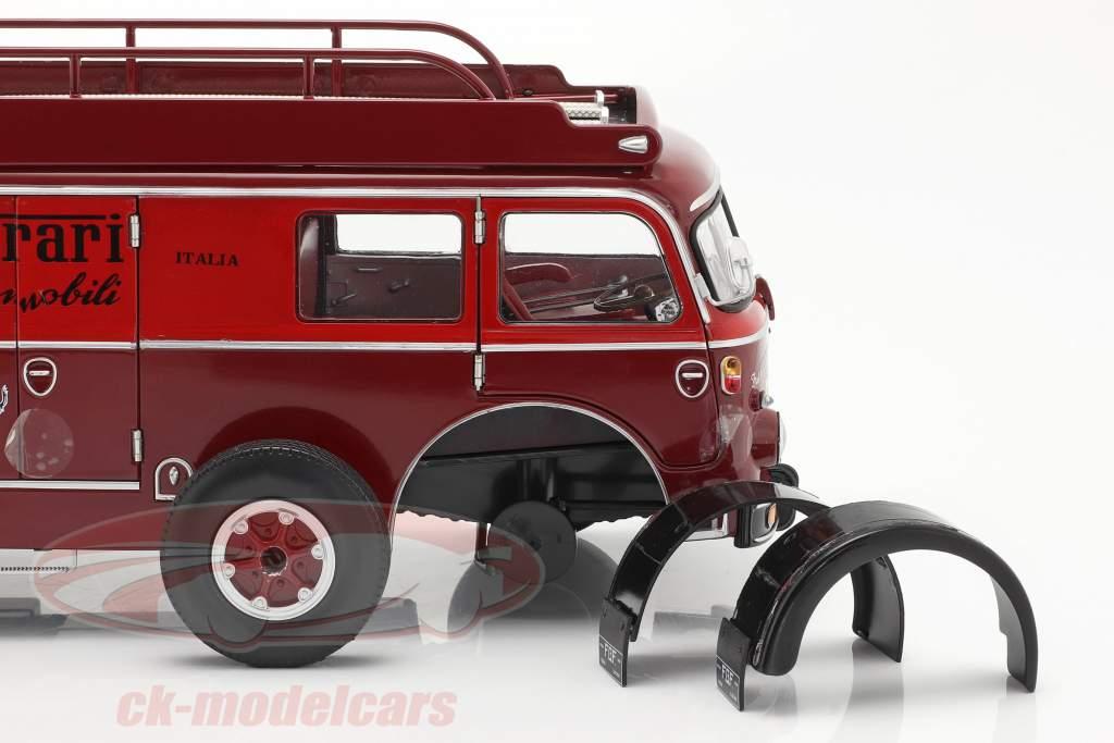 Fiat 642 RN2 Bartoletti Ferrari Transporteur de course rouge foncé 1:18 CMR / 2. choix
