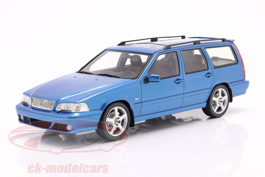 Volvo V70 R (Generation 1) Byggeår 1999 blå 1:18 DNA Collectibles