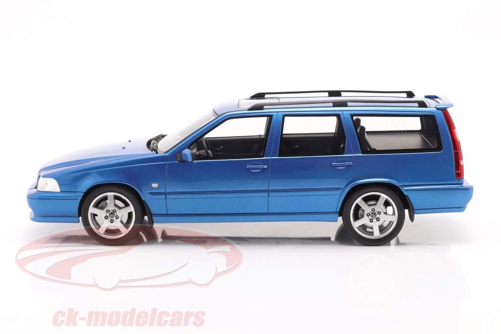Volvo V70 R (Geração 1) Ano de construção 1999 azul 1:18 DNA Collectibles