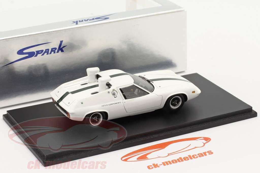 Lotus 47 Schnorkel prøve Bil 1967 hvid 1:43 Spark