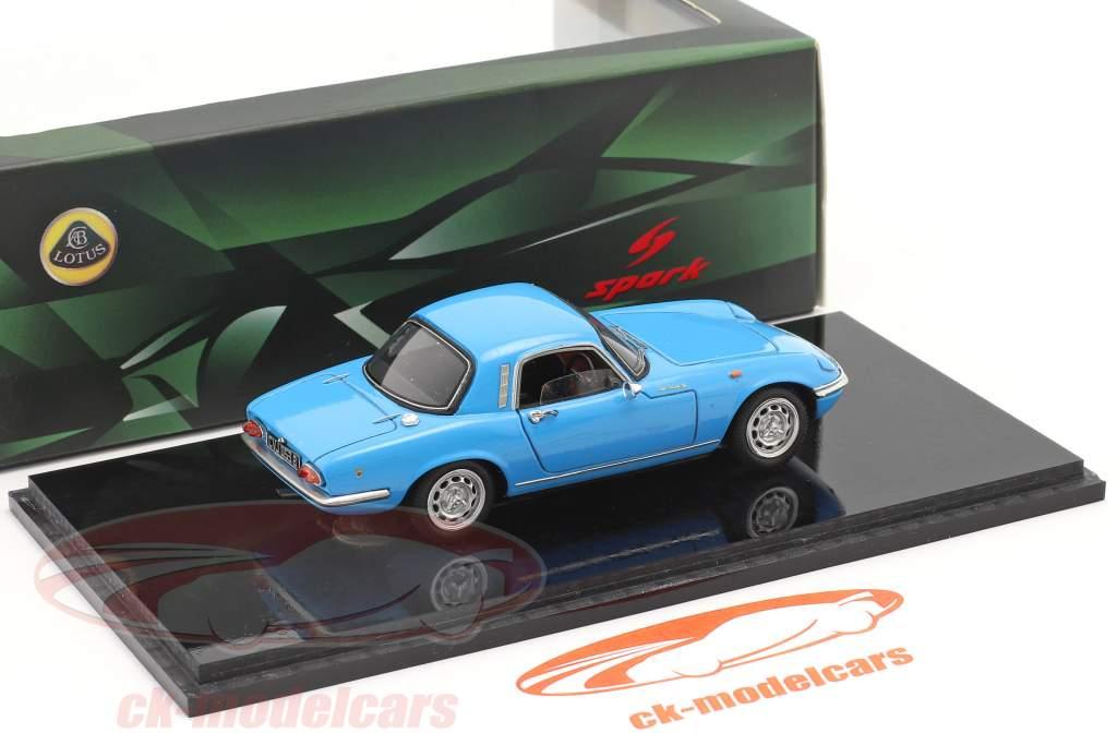 Lotus Elan S3 FHC Année de construction 1965 bleu 1:43 Spark