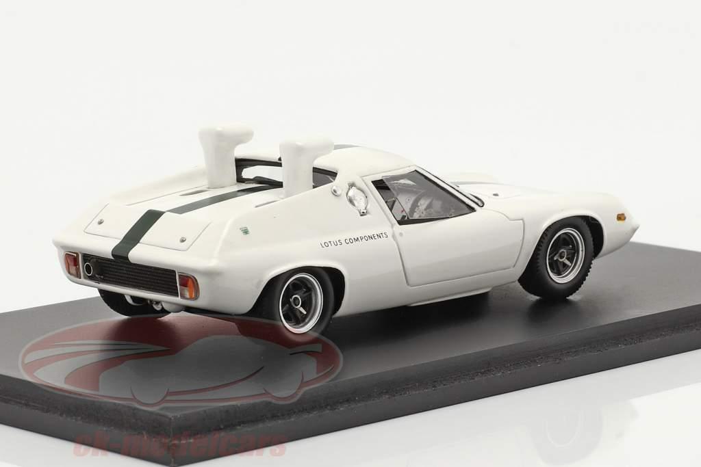 Lotus 47 Schnorkel test Car 1967 white 1:43 Spark
