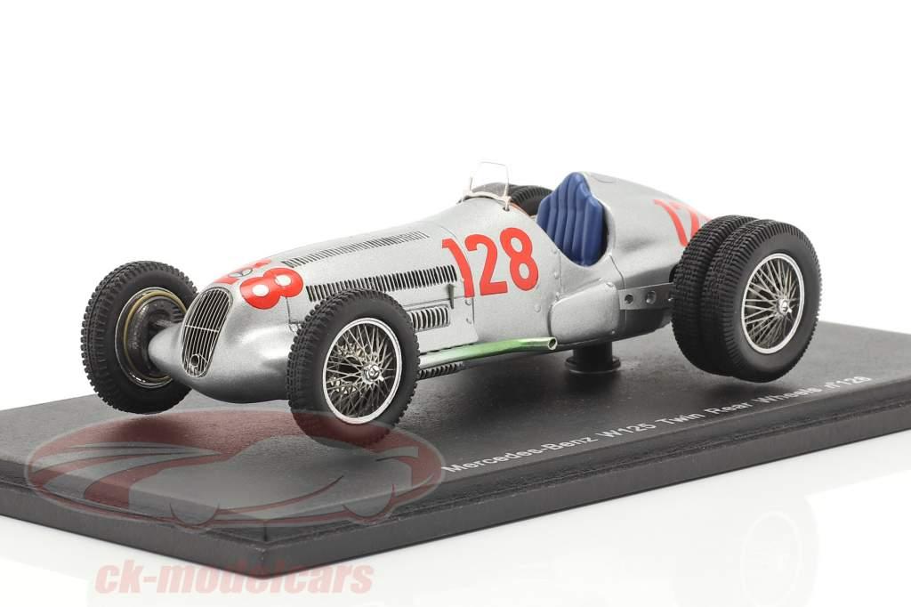 Mercedes-Benz W125 Twin Rear Wheels #128 Vincitore Hill Climb 1939 Lang 1:43 Spark