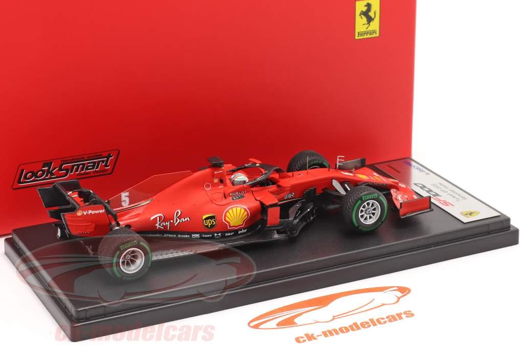 Sebastian Vettel Ferrari SF1000 #5 3e turc GP formule 1 2020 1:43 LookSmart