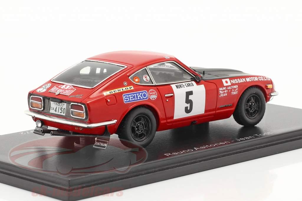Datsun 240Z #5 3e Rallye Monte Carlo 1972 Aaltonen, Todt 1:43 Spark