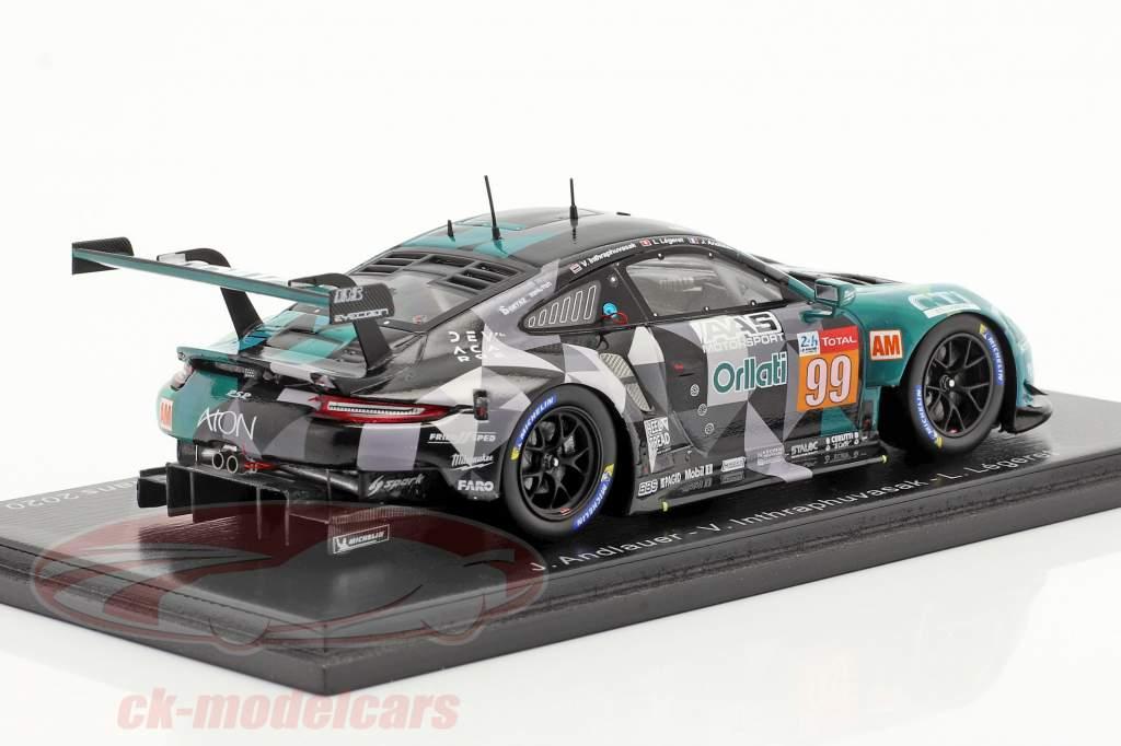 Porsche 911 RSR #99 24h LeMans 2020 Dempsey-Proton Racing 1:43 Spark