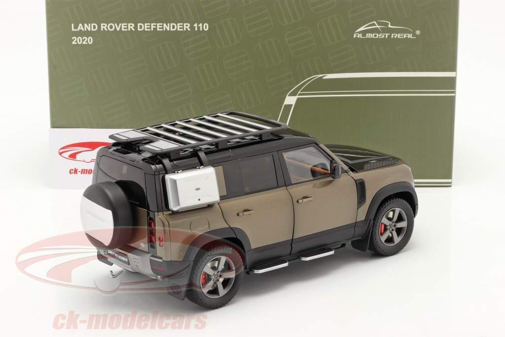 Land Rover Defender 110 Anno di costruzione 2020 Marrone metallico 1:18 Almost Real
