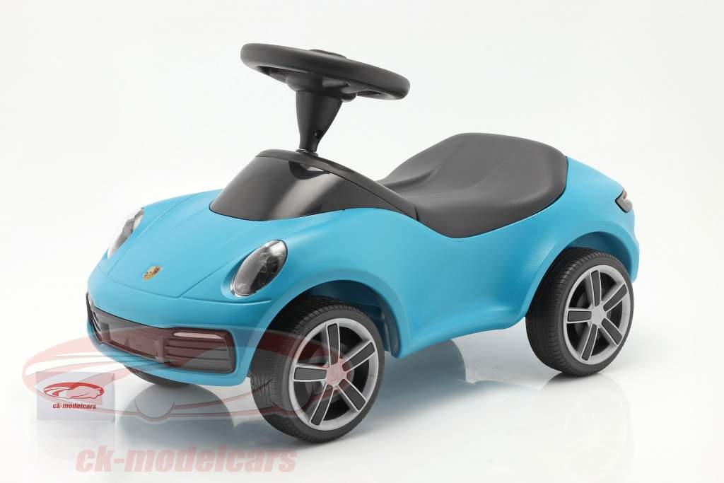 Baby Porsche Kinderfahrzeug miami blau