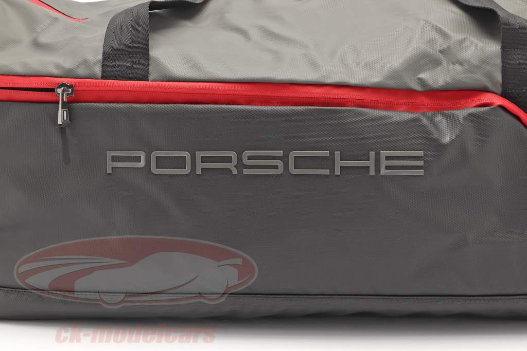 Porsche Borsa da viaggio ca. 65 x 35 x 30 cm Grigio / nero / rosso