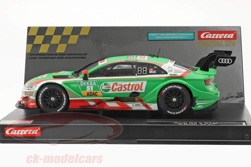 Digital 124 SlotCar Audi RS 5 DTM #51 DTM 2018 N. Müller 1:24 Carrera