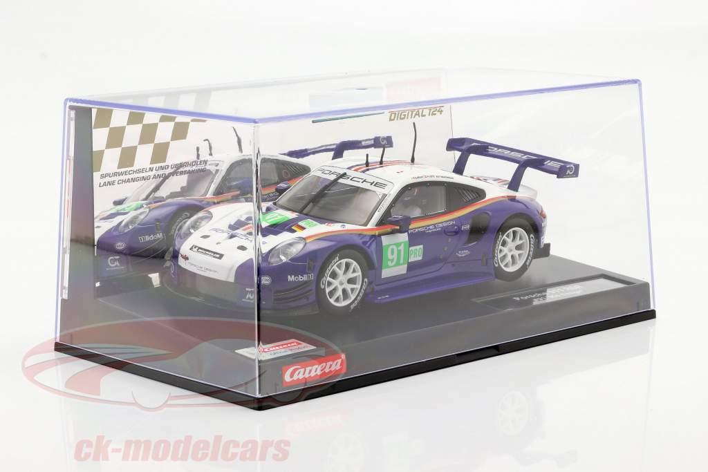 Digital 124 SlotCar Porsche 911 RSR #91 24h LeMans 2018 1:24 Carrera