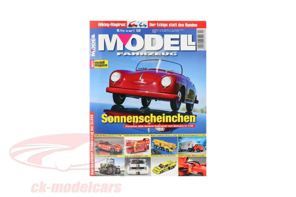 Zeitschrift MODELLFAHRZEUG Ausgabe Juli / August - Nr. 3 / 2021