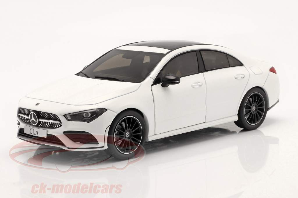 Mercedes-Benz CLA Coupe (C118) Ano de construção 2019 Branco 1:18 Solido