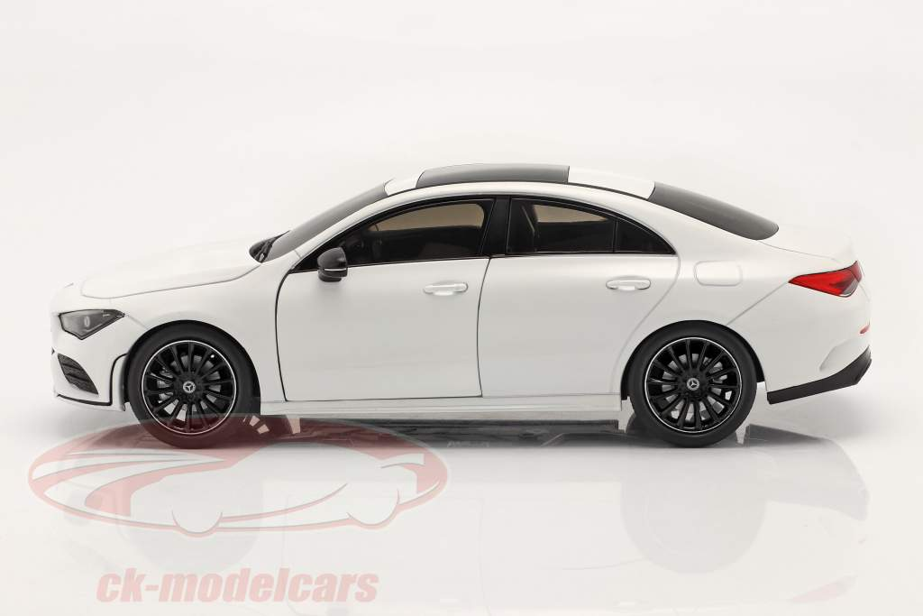 Mercedes-Benz CLA Coupe (C118) year 2019 white 1:18 Solido