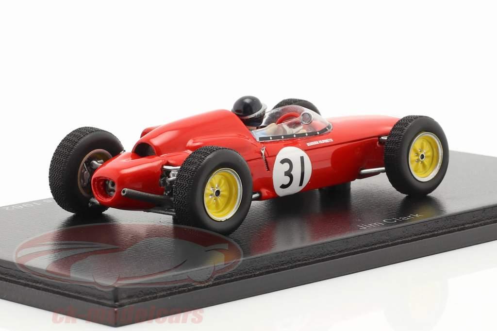 Lotus 21 #31 3e Ollon-Villars Course de côte 1962 Jim Clark 1:43 Spark