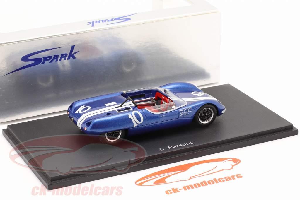 Lotus 23 #10 Winnaar Laguna Seca 1963 Parsons 1:43 Spark