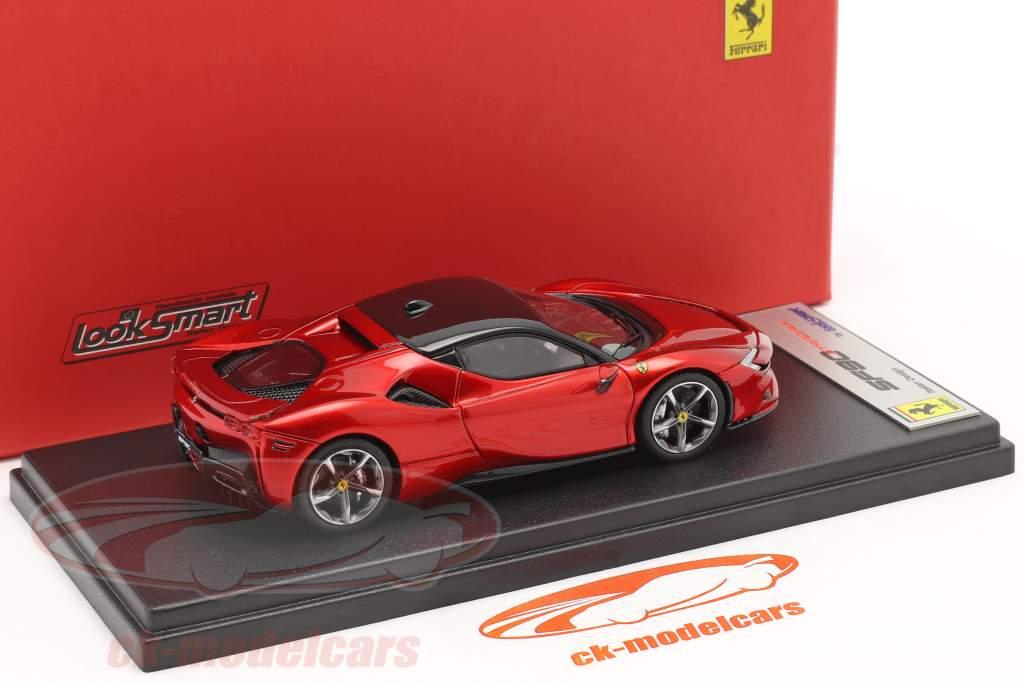 Ferrari SF90 Stradale Byggeår 2019 ildrød 1:43 LookSmart