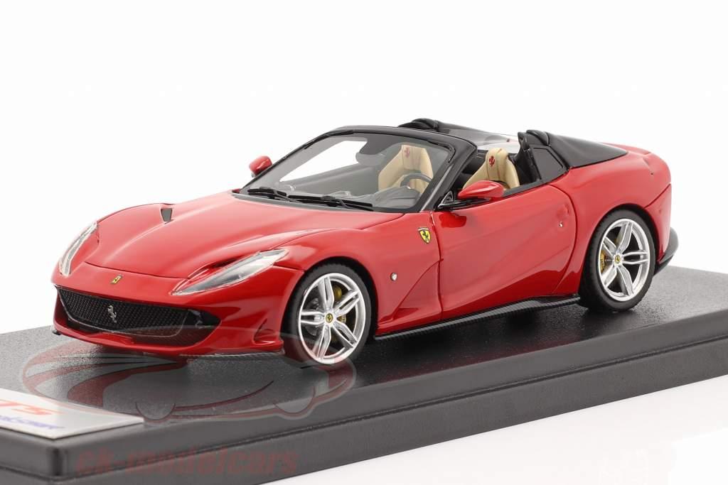 Ferrari 812 GTS Spider Ano de construção 2019 corsa vermelho 1:43 LookSmart
