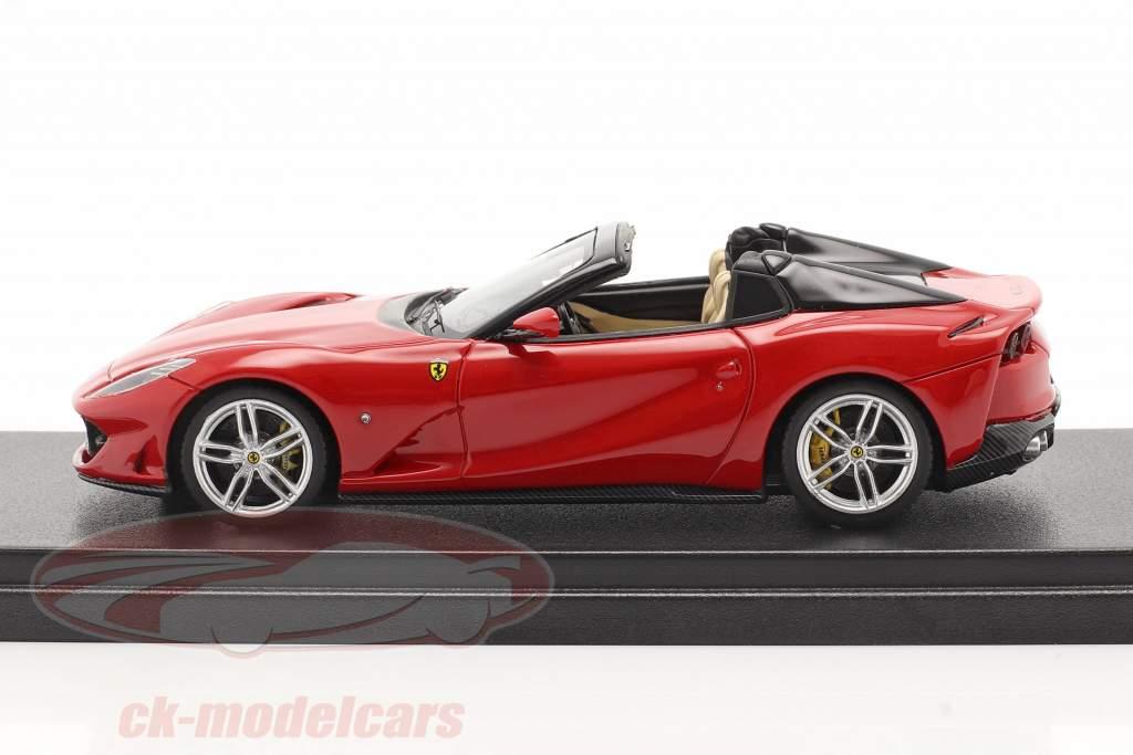 Ferrari 812 GTS Spider bouwjaar 2019 corsa rood 1:43 LookSmart