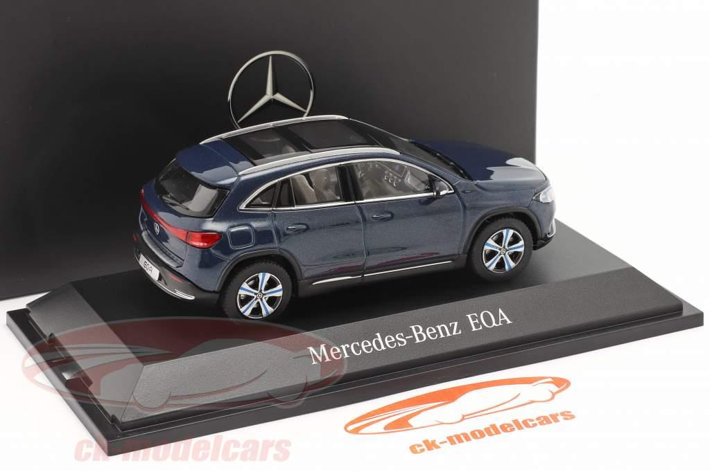 Mercedes-Benz EQA (H243) Ano de construção 2021 denim azul 1:43 Herpa