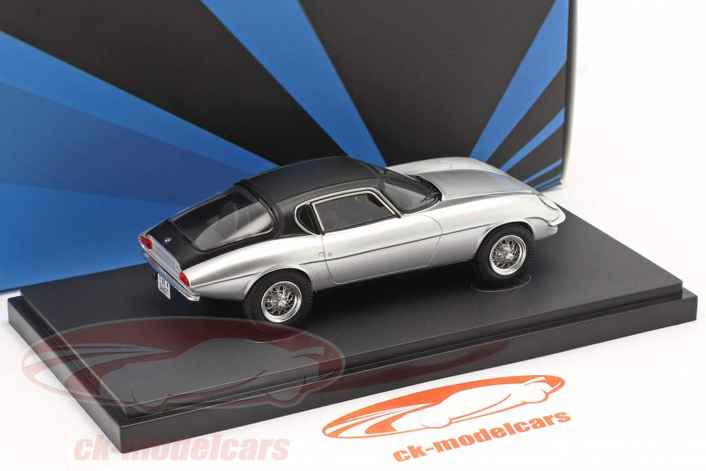BMW Hurrican Año de construcción 1964 plata / negro 1:43 AutoCult