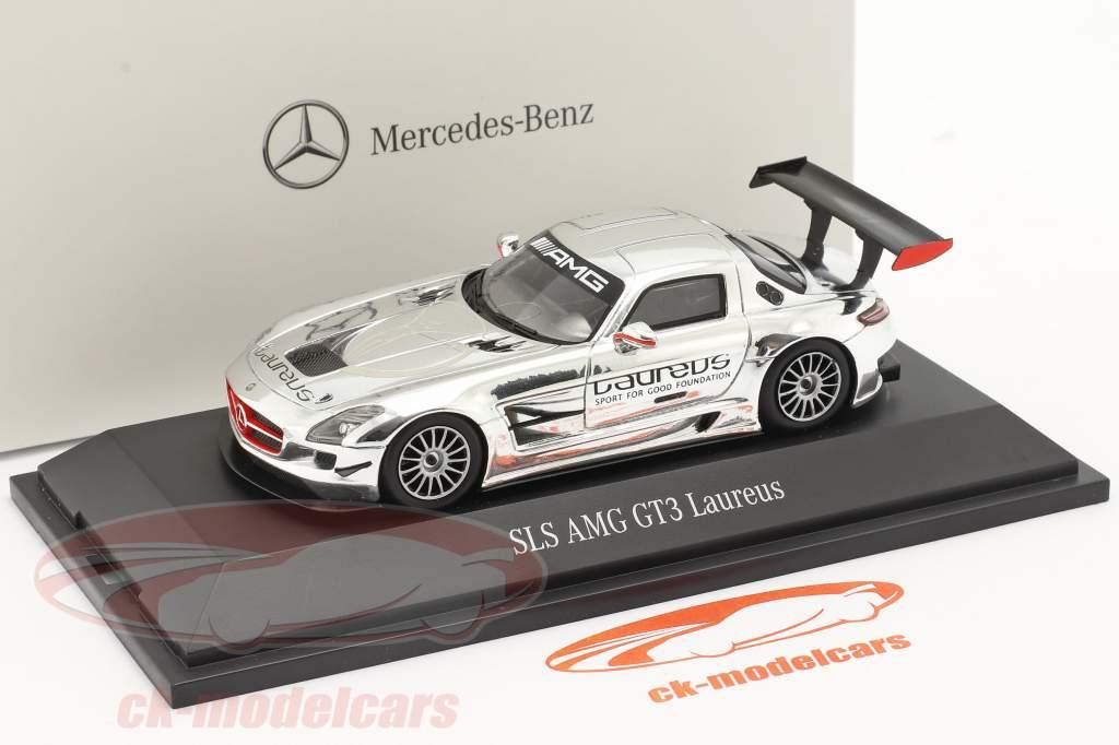 Mercedes-Benz SLS AMG GT3 Laureus chrom 1:43 Spark
