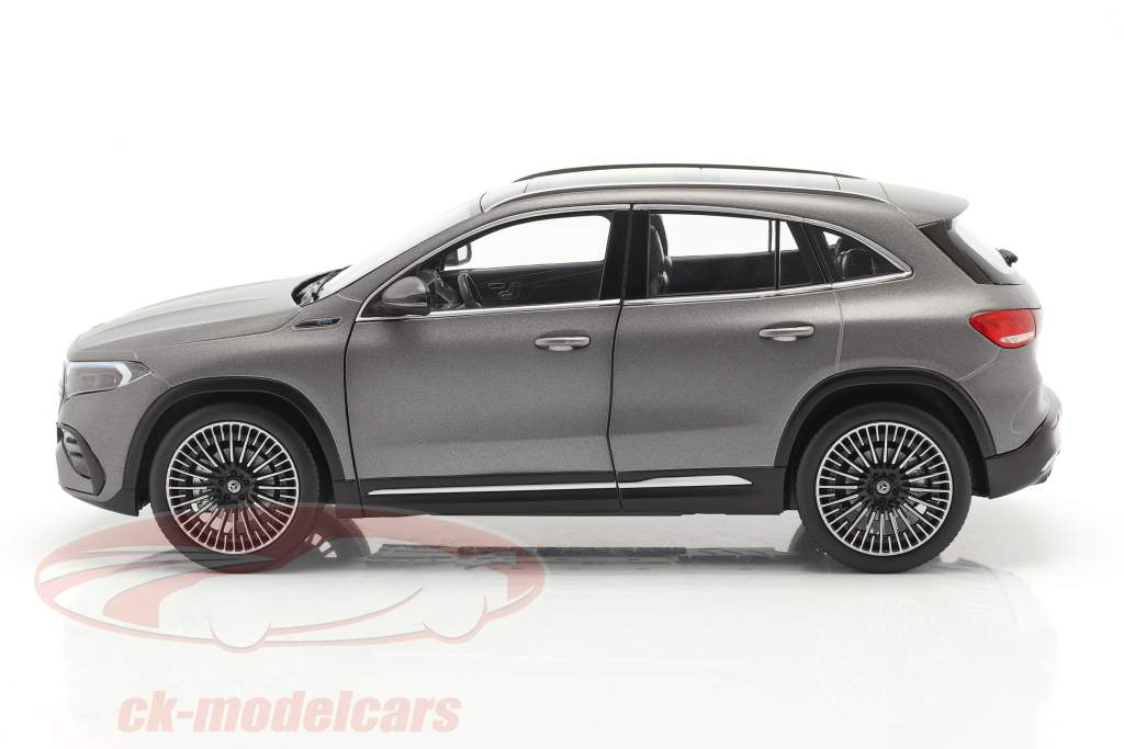 Mercedes Benz EQA (H243) Ano de construção 2021 designo montanha cinza magno 1:18 NZG