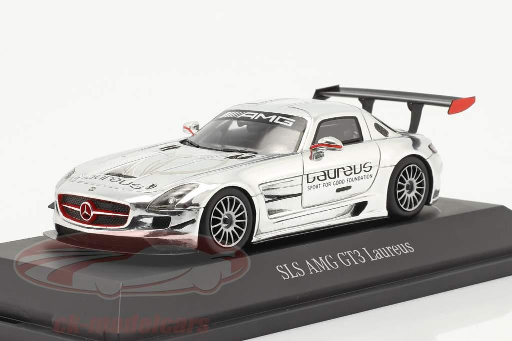 Mercedes-Benz SLS AMG GT3 Laureus cromada 1:43 Spark