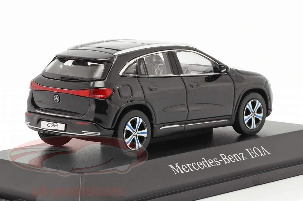 Mercedes-Benz EQA (H243) Año de construcción 2021 cosmos negro 1:43 Herpa
