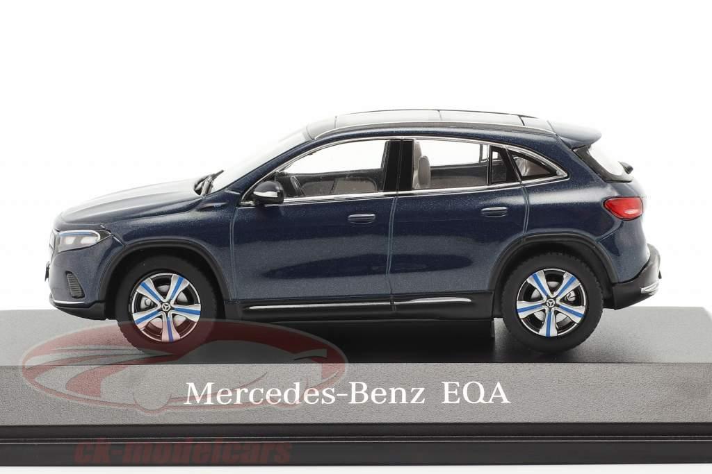 Mercedes-Benz EQA (H243) Baujahr 2021 denim blau 1:43 Herpa