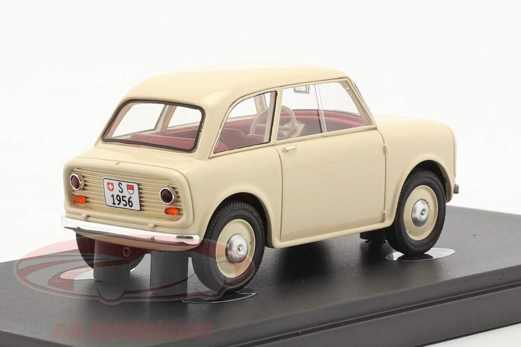 Soletta 750 Año de construcción 1956 Marfil 1:43 AutoCult