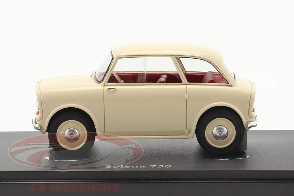 Soletta 750 Ano de construção 1956 marfim 1:43 AutoCult