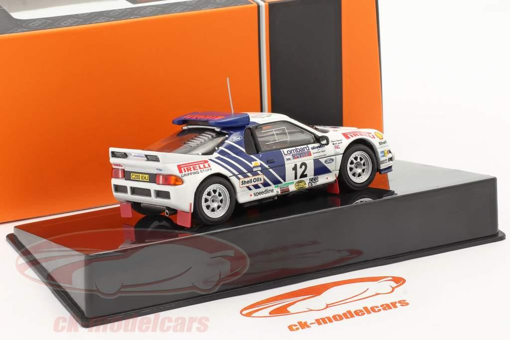 Ford RS200 #12 Lombard RAC Rallye 1986 Lovell, Freeman 1:43 Ixo