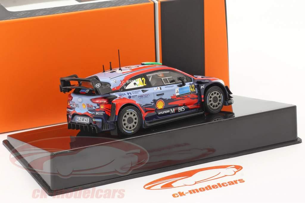 Hyundai i20 Coupe WRC #42 2ª Rallye Estônia 2020 Breen, Nagle 1:43 Ixo